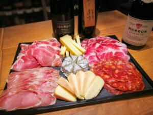 Jambon de Serrano reserva avec 18 mois d'affinage - Coppa di Parma extra reserva - Chorizo Iberia Bellota - Llom Curat d'Ollot